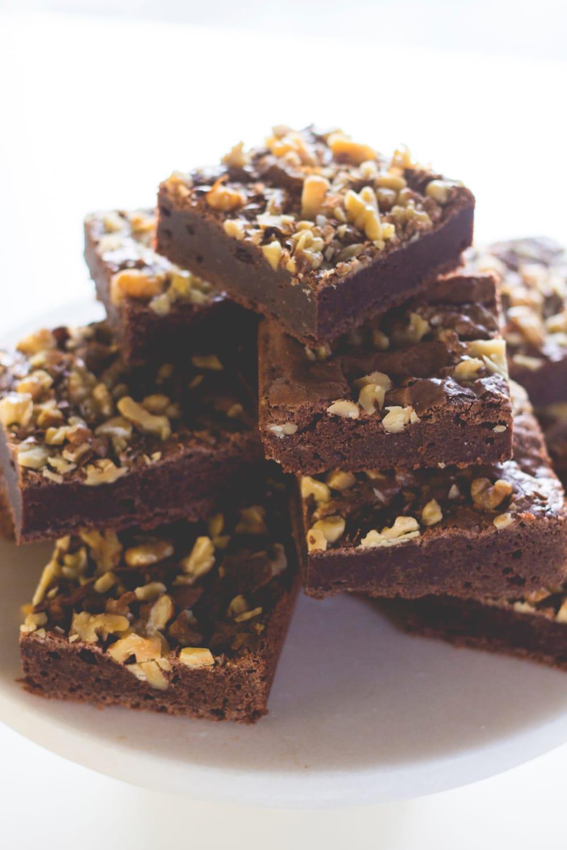 Flourless Banana Brownies - Kirbies Cravings