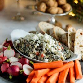Spinach + Artichoke Dip   Wyse Guide