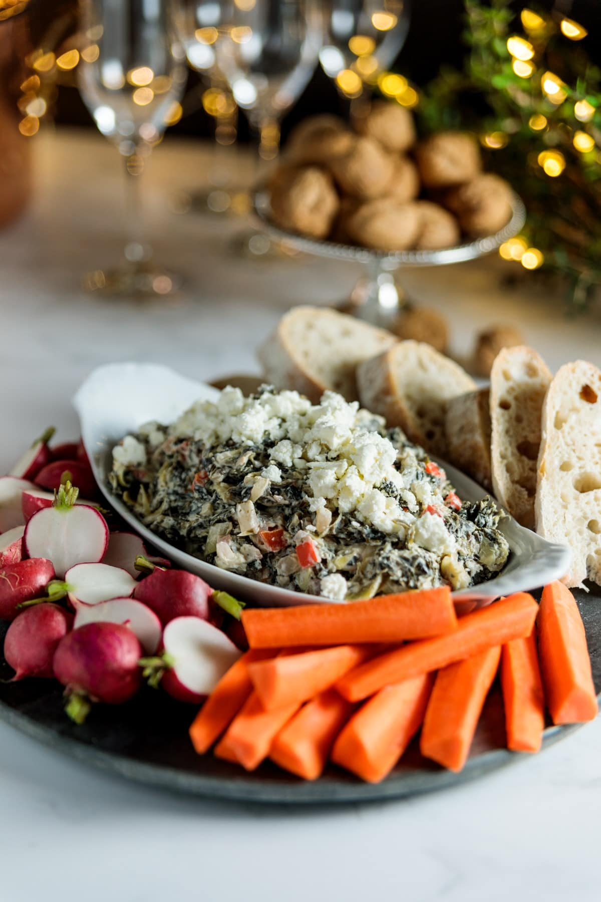 Spinach + Artichoke Dip | Wyse Guide