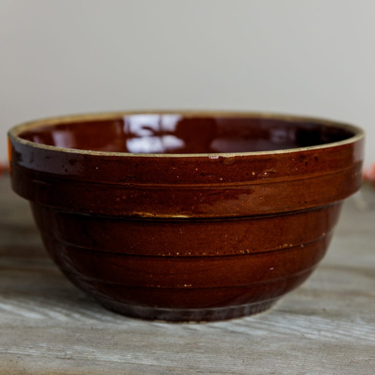 "9"" Stoneware Kitchen Bowl 