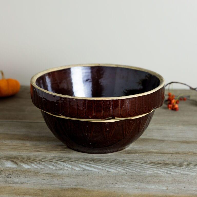Large Harvest Stoneware Bowl | Wyse Guide