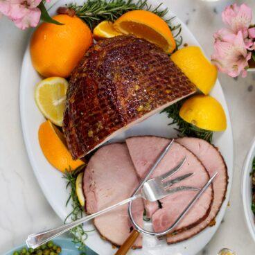 Citrus Glazed Ham | Wyse Guide