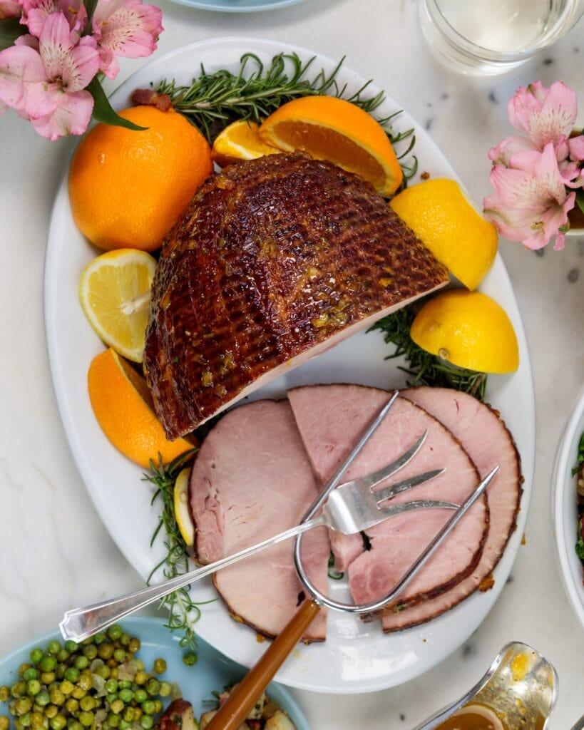 Citrus Glazed Ham   Wyse Guide