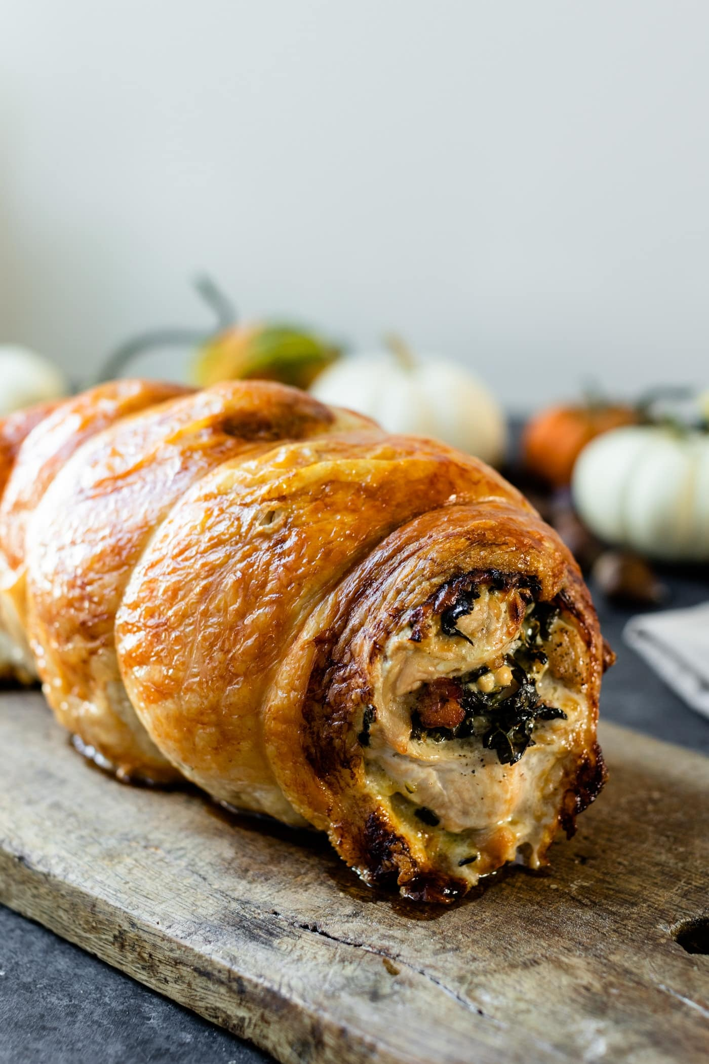 Turkey Roulade With Pancetta And Kale Stuffing Wyse Guide